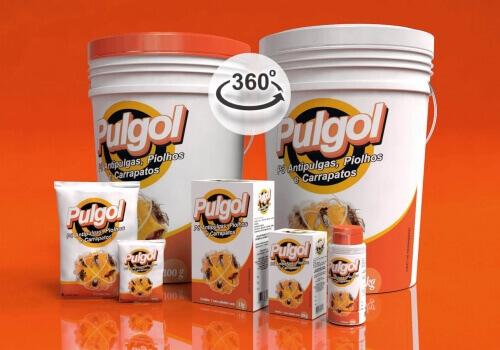 MOCKUP – EMBALAGEM 3D – Pulgol