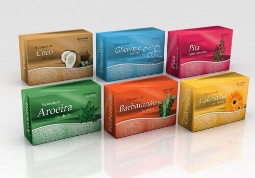 Embalagens – Linha de Sabonetes