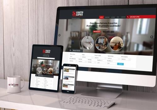 Website Responsivo para Imobiliária – Couto Lopes