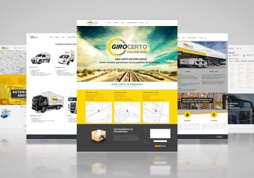 WEBSITE – Giro Certo Encomendas