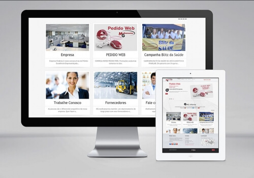 Website – MG Medicamentos