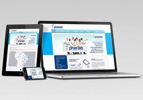 Website – Pharlab Indústria Farmacêutica S/A